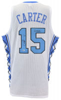 """Vince Carter Signed Jersey Inscribed """"Go Heels"""" (Beckett COA) at PristineAuction.com"""
