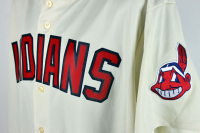 Charlie Sheen Signed Indians Jersey (Beckett COA) at PristineAuction.com