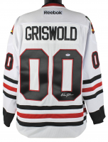 "Chevy Chase Signed ""National Lampoon's Christmas Vacation"" Blackhawks Jersey (PSA COA) at PristineAuction.com"