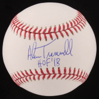 "Alan Trammell Signed OML Baseball Inscribed ""HOF '18"" (JSA COA) at PristineAuction.com"