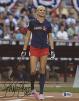 "Jennie Finch Signed Team USA 8x10 Photo Inscribed ""USA"" (Beckett COA) at PristineAuction.com"