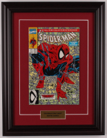 "Vintage 1990 ""The Amazing Spider-Man"" Issue #1 13.5x17.5 Custom Framed Marvel Comic Book at PristineAuction.com"