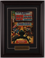 "Vintage Original 1966 ""Tales of Suspense: Featuring Iron Man & Captain America"" Issue #78 Marvel 13.5x17.5 Custom Framed Comic Book at PristineAuction.com"