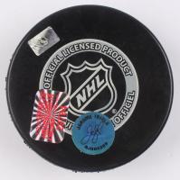 Jarome Iginla Signed Bruins Logo Hockey Puck (Iginla Hologram) at PristineAuction.com