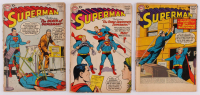 "Lot of (3) 1957-58 ""Superman"" DC Comic Books at PristineAuction.com"