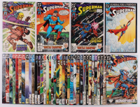 "Lot of (40) 1988-2004 ""Superman"" 2nd Series DC Comic Books at PristineAuction.com"