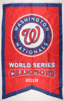 Nationals 36x60 2019 World Series Champions Flag at PristineAuction.com