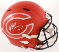 Mike Singletary Signed Bears Full-Size AMP Alternate Speed Helmet (Beckett COA) at PristineAuction.com