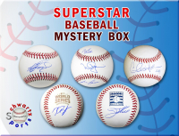 Schwartz Sports Baseball Superstar Signed Baseball Mystery Box - Series 4 (Limited to 100) at PristineAuction.com