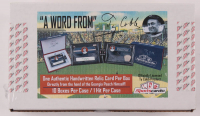 "Ty Cobb ""A Word From"" Authentic Hand-Written Relic Card Factory Sealed Case of (10) Boxes at PristineAuction.com"