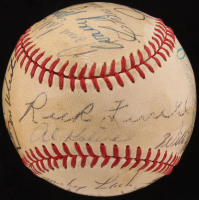 Stars & Hall Of Famers ONL Baseball Signed by (13) with Al Kaline, Rick Ferrell, Frank Frisch, Norm Cash (Beckett LOA) at PristineAuction.com
