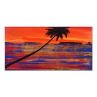 "Wyland Signed ""Paradise Found #15"" 30x15 Original Oil Painting on Canvas at PristineAuction.com"