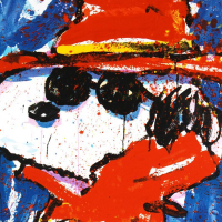 """Tom Everhart Signed """"Undercover in Hollywood"""" Limited Edition 23x30 Hand Pulled Original Lithograph at PristineAuction.com"""