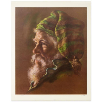 "Virginia Dan Signed ""Fisherman"" Limited Edition 18x23 Lithograph at PristineAuction.com"