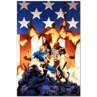 "Marvel Comics ""Ultimate Avengers #8"" Limited Edition 18x27 Giclee on Canvas by Carlos Pacheco at PristineAuction.com"
