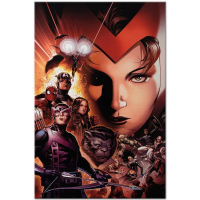 """Marvel Comics """"Avengers: The Children's Crusade #6"""" Limited Edition 18x27 Giclee on Canvas by Jim Cheung at PristineAuction.com"""