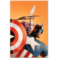 """Marvel Comics """"Avengers #77"""" Limited Edition 18x27 Giclee on Canvas by John Cassaday at PristineAuction.com"""