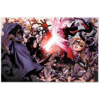 "Marvel Comics ""Avengers: The Children's Crusade #4"" Limited Edition 18x24 Giclee on Canvas by Jim Cheung at PristineAuction.com"