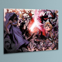 """Marvel Comics """"Avengers: The Children's Crusade #4"""" Limited Edition 18x24 Giclee on Canvas by Jim Cheung at PristineAuction.com"""