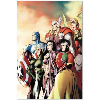 "Marvel Comics ""I Am an Avenger #5"" Limited Edition 18x27 Giclee on Canvas by Alan Davis at PristineAuction.com"