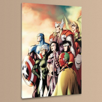 """Marvel Comics """"I Am an Avenger #5"""" Limited Edition 18x27 Giclee on Canvas by Alan Davis at PristineAuction.com"""