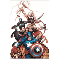 "Marvel Comics ""Ultimate New Ultimates #5"" Limited Edition 18x27 Giclee on Canvas by Frank Cho at PristineAuction.com"