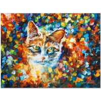 """Leonid Afremov Signed """"Bright Eyes"""" Limited Edition 24x18 Giclee on Canvas at PristineAuction.com"""