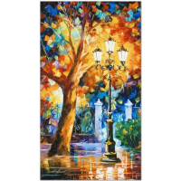 """Leonid Afremov Signed """"Romantic Aura"""" Limited Edition 16x27 Giclee on Canvas at PristineAuction.com"""