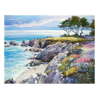"""Howard Behrens Signed """"Monterey Bay, After The Rain"""" Limited Edition 24x32 Giclee on Canvas at PristineAuction.com"""