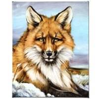 """Martin Katon Signed """"Fantastic Fox"""" Limited Edition 16x20 Giclee on Canvas at PristineAuction.com"""