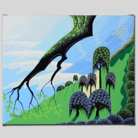 """Larissa Holt Signed """"Summer"""" Limited Edition 12x10 Giclee on Canvas at PristineAuction.com"""