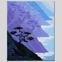 """Larissa Holt Signed """"Bonsai"""" Limited Edition 10x12 Giclee on Canvas at PristineAuction.com"""