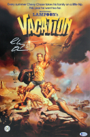"Chevy Chase Signed ""National Lampoon's Vacation"" 12x18 Photo (Beckett COA & Chase Hologram) at PristineAuction.com"