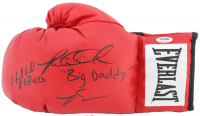 "Evander Holyfield & Riddick Bowe Signed Everlast Boxing Glove Inscribed ""Big Daddy"" (PSA COA) at PristineAuction.com"