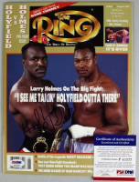 Evander Holyfield Signed 1992 The Ring  Magazine (PSA COA) at PristineAuction.com