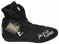 Evander Holyfield Signed Everlast Boxing Shoe (PSA COA) at PristineAuction.com