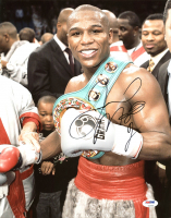 Floyd Mayweather Jr. Signed 11x14 Photo (PSA COA) at PristineAuction.com
