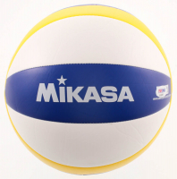 """Kerri Walsh Jennings Signed Volleyball Inscribed """"Gold '04 '08 '12..."""" & """"Bronze '16"""" (PSA COA) at PristineAuction.com"""
