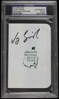 Vijay Singh Signed Augusta National Golf Club Scorecard (PSA Encapsulated) at PristineAuction.com