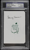 Tommy Aaron Signed Augusta National Golf Club Scorecard (PSA Encapsulated) at PristineAuction.com