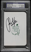 Sandy Lyle Signed Augusta National Golf Club Scorecard (PSA Encapsulated) at PristineAuction.com