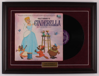 "Walt Disney's ""Cinderella"" 18.5x24.5 Custom Framed 1969 Vinyl Record Album Display at PristineAuction.com"
