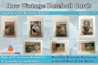 Cardboard Hits Presents Vintage Card Mystery Boxes Series 7 at PristineAuction.com