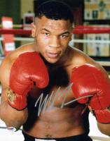Mike Tyson Signed 11x14 Photo (PSA COA) at PristineAuction.com