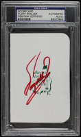Fuzzy Zoeller Signed Augusta National Golf Club Scorecard (PSA Encapsulated) at PristineAuction.com