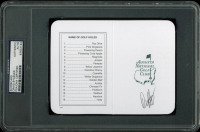 Craig Stadler Signed Augusta National Golf Club Scorecard (PSA Encapsulated) at PristineAuction.com