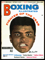 Muhammad Ali Signed 1971 Boxing Illustrated Magazine (Beckett LOA) at PristineAuction.com