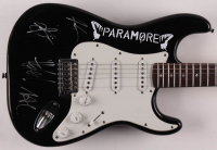 "Paramore 39"" Electric Guitar Signed by (4) with Hayley Williams, Zac Farro, Josh Farro & Taylor York (PSA Holgram) at PristineAuction.com"