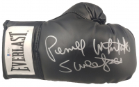 "Pernell Whitaker Signed Everlast Boxing Glove Inscribed ""Sweet Pea"" (Beckett COA) at PristineAuction.com"