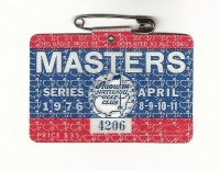 1976 Masters Augusta National Golf Club Badge Ticket at PristineAuction.com